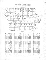 Iowa State Auto License Index, Muscatine County 1967